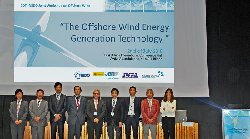 Jornada The Offshore Wind Energy Generation Technology en Bilbao