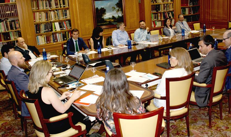 Reunión del primer comité técnico