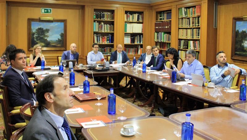 Reunión primer comité V Congreso Smart Grids