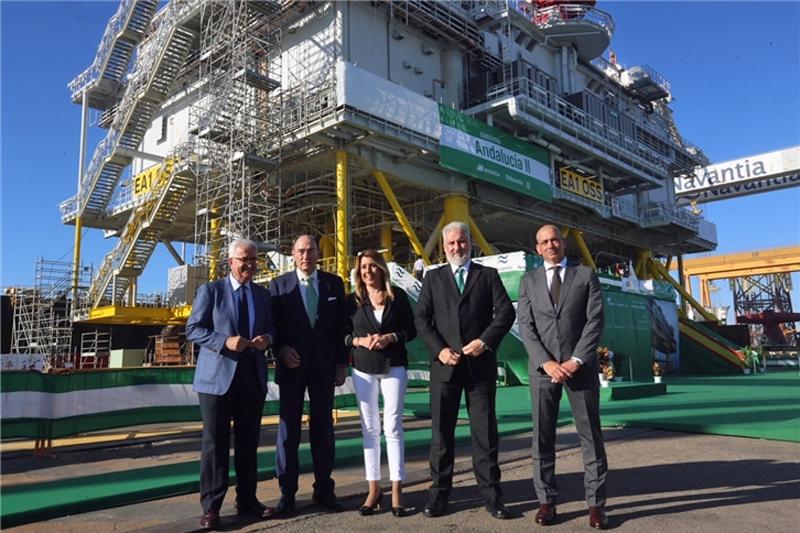 Acto de entrega de la subestación eléctrica Andalucía II de Iberdrola y Navantia