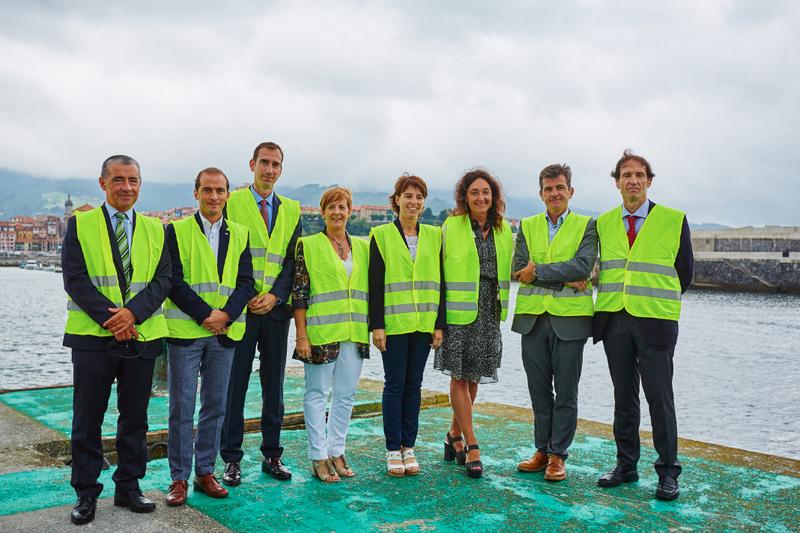 Presentación del proyecto en el Puerto de Bermeo