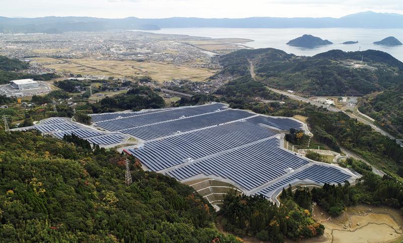 Planta fotovoltaica de X-Elio en Japón