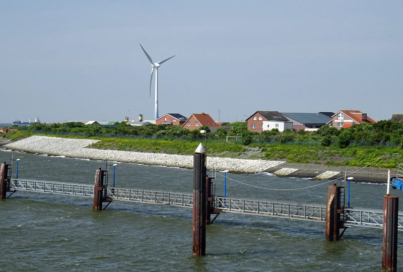 Isla de Borkum en Alemania