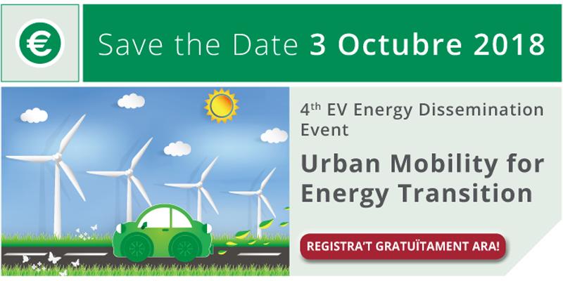 La jornada 'Urban Mobility for Energy' se enmarca dentro del proyecto EV Energy de Interreg Europe, del que forma parte Barcelona.