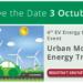 Barcelona acogerá la jornada 'Urban Mobility for Energy' sobre sistemas sostenibles de energía y movilidad eléctrica