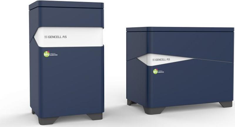 El catalizador es utilizado por la solución de energía fuera de red GenCell A5
