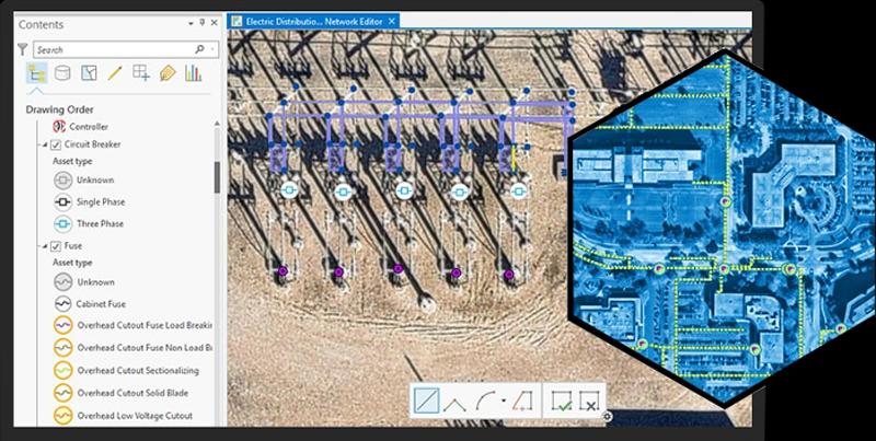 la Plataforma ArcGIS, Utility Network Management