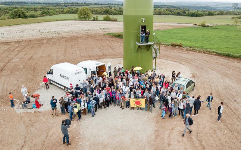Acto de inauguración proyecto Vivir del aire del cielo