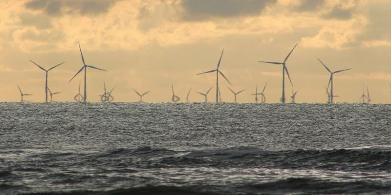 Parque eólico offshore.