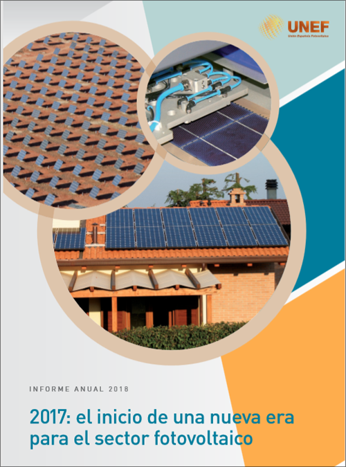 Portada del Informe Anual de UNEF.
