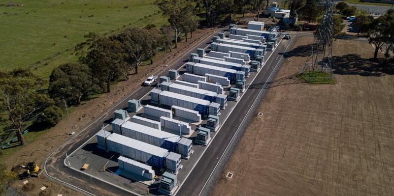 Construcción del sistema de almacenamiento en Ballarat (Victoria-Australia)