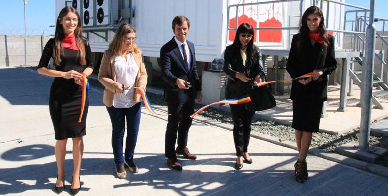 Inauguración de Stocare Project en un parque eólico de Rumanía.