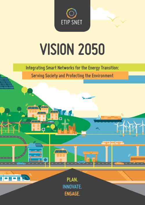 Portada de ETIP SNET Vision 2050.