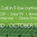 Jornada de lanzamiento de la convocatoria EUROGIA2020 para proyectos bajos en carbono