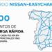 Nissan anuncia 100 nuevos puntos de carga rápida en las principales vías de España