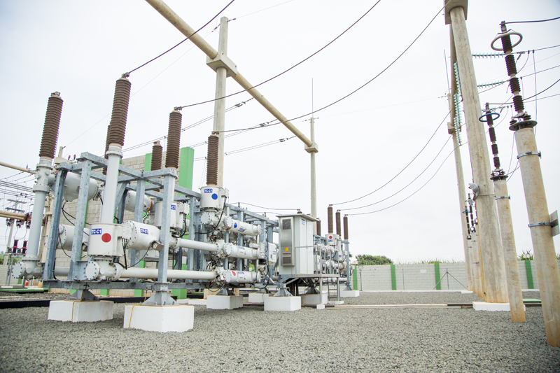 Subestación eléctrica de Elektro.