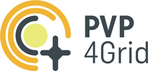 Logo del Proyecto Europeo PVP4GRID