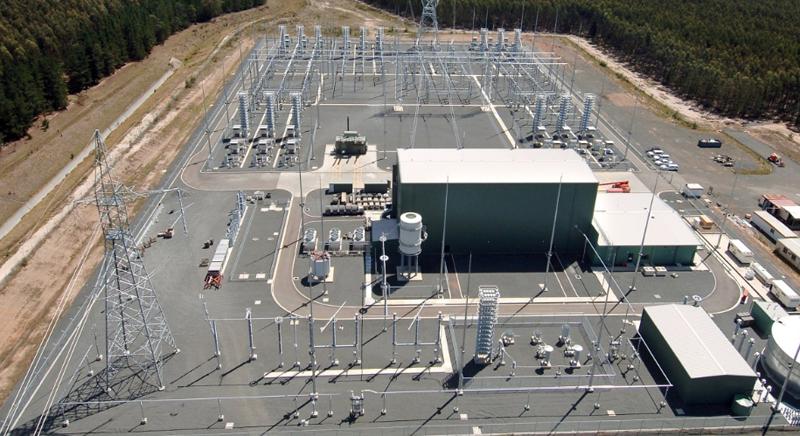 Subestación eléctrica Canadá.