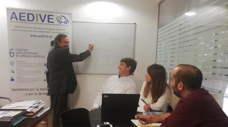 Reunión del consorcio del Proyecto OPTIMATE 4.0 en las instalaciones de AEDIVE.