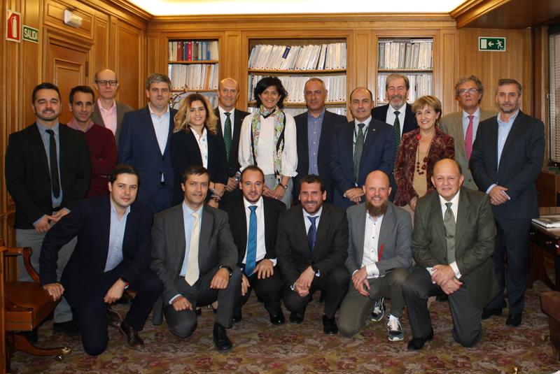 Foto de familia del segundo Comité Técnico del V Congreso Smart Grids.
