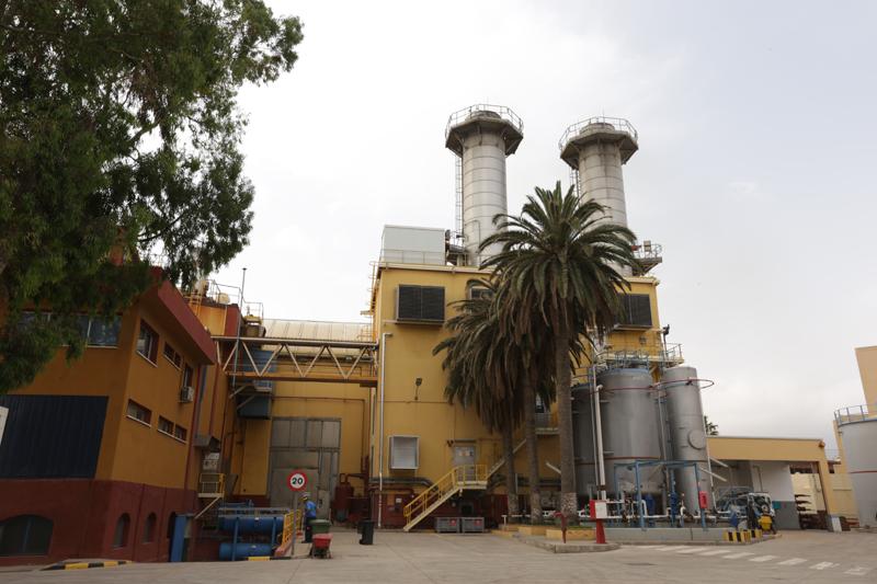 Central térmica de Endesa en Melilla donde se va a desarrollar la solución de almacenamiento energético con baterías de vehículo eléctrico de segunda vida.