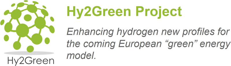 Logo de Hy2Green Project.