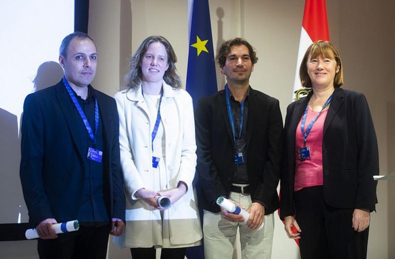Investigadores que han recibido el Premio Big Data Technologies.