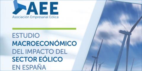 Aumenta la contribución del sector eólico al PIB español, según el Estudio Macroeconómico de AEE