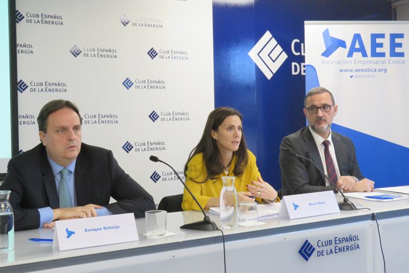 El Estudio Macroeconómico del Impacto del Sector Eólico en España de AEE, elaborado por Deloitte, fue presentado en la sede de Enerclub el 29 de noviembre de 2018.