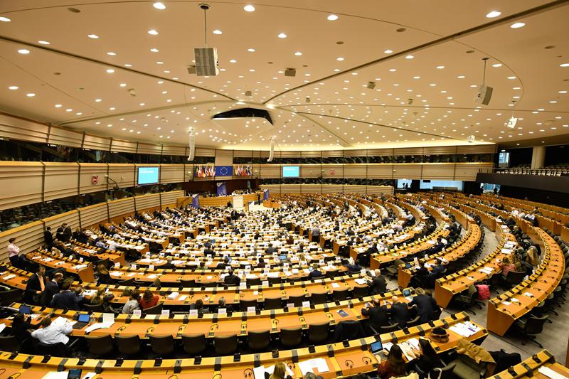 Sesión plenaria del Comité Europeo de las Regiones.
