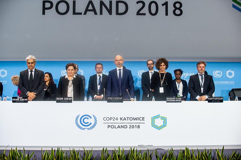 COP24, en Katawice, Polonia.