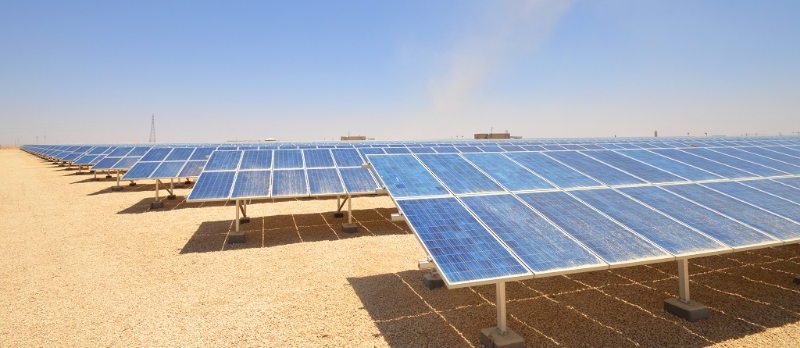 Parque fotovoltaico.