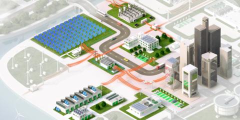Gestión automatizada de la mayor microrred industrial de Finlandia con tecnología basada en la nube