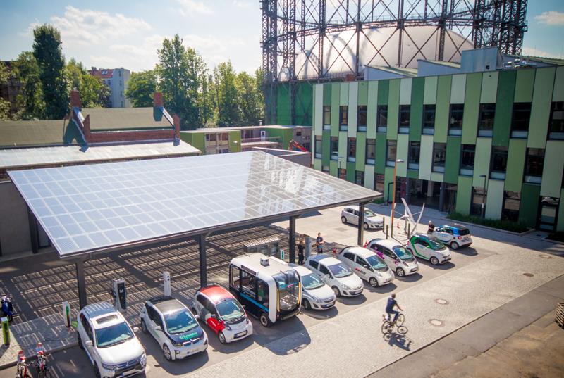 Pérgolas fotovoltaicas