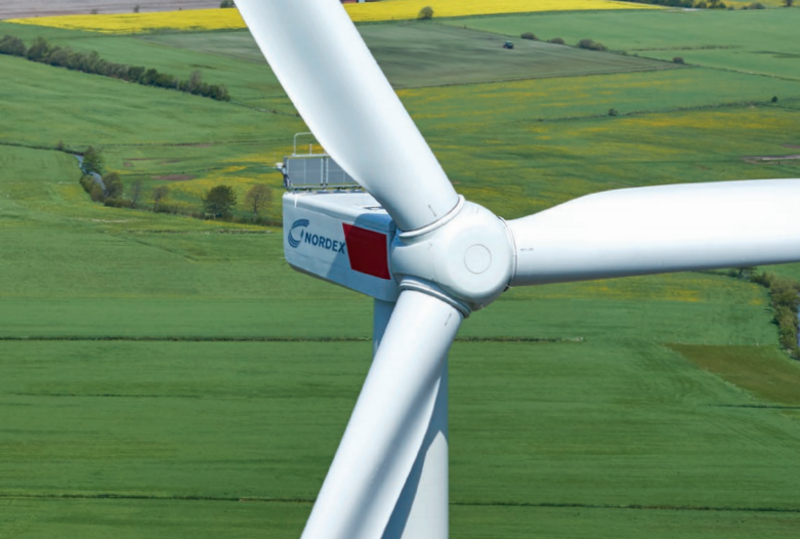 Turbina de Nordex.
