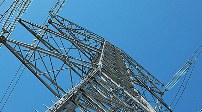 instalaciones de una red de transporte eléctrico