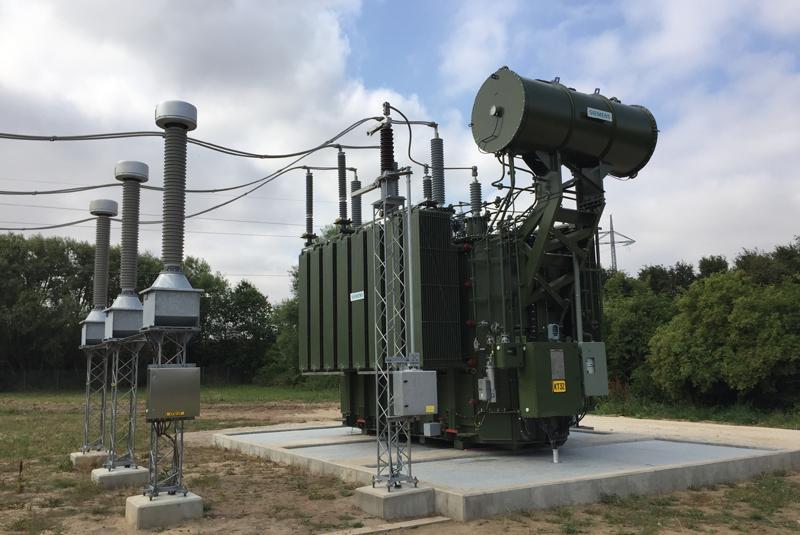 Transformadores de Siemens para plantas fotovoltaicas.