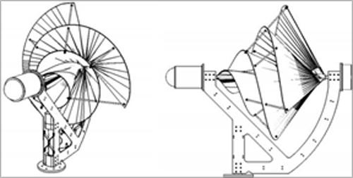 Figura 3. Arquitectura base de la turbina Arquímedes, propiedad de Eolis Enterprises BV.