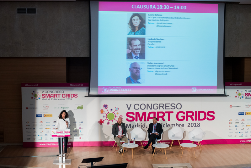 Clausura del V Congreso Smart Grids.
