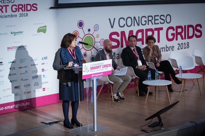 Marina Serrano, presidenta de la Asociación de Empresas de Energía Eléctrica, AELEC.