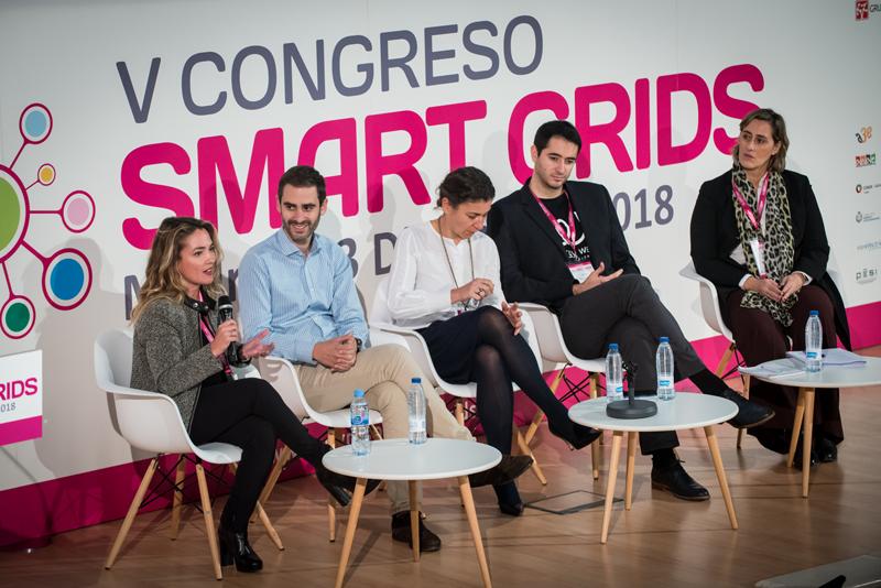 Sandra Alfonso en el V Congreso Smart Grids.