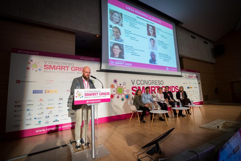 Stefan Junestrand en el V Congreso Smart Grids.