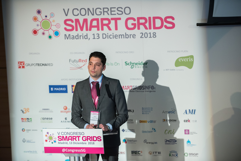 Jesús Torres, en el V Congreso Smart Grids.