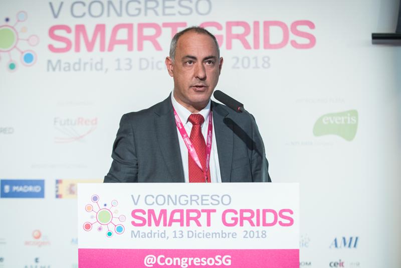 Joaquín Chacón fue el moderador del segundo bloque de ponencias del V Congreso Smart Grids.