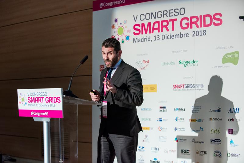 Francisco Javier López en el V Congreso Smart Grids.