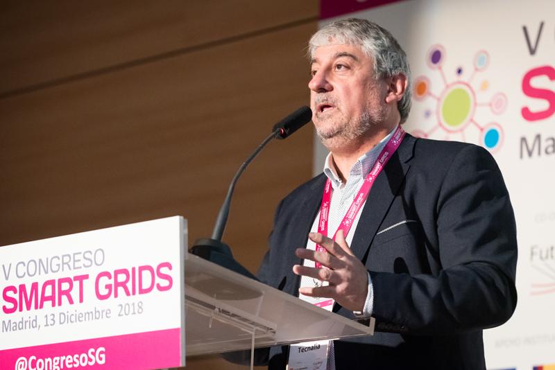 Iñaki Angulo en el V Congreso Smart Grids.