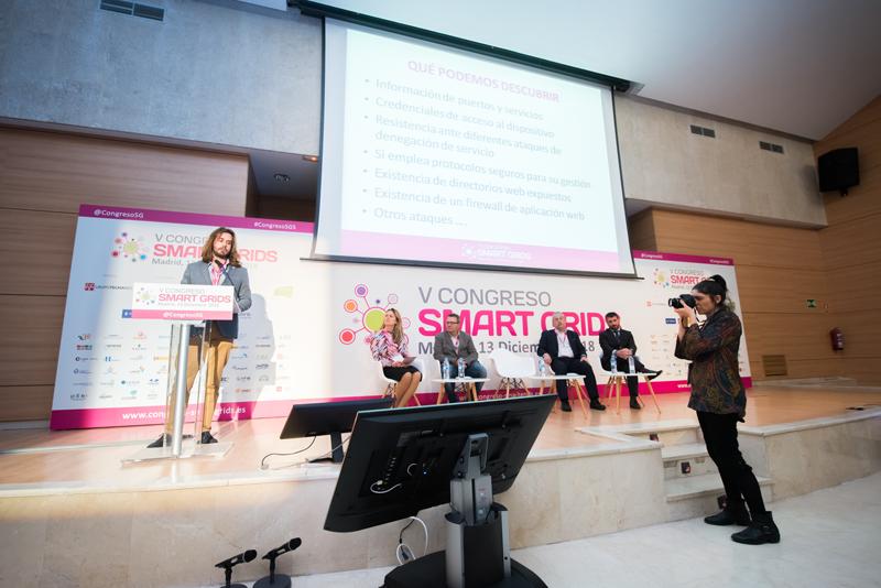 Santiago de Diego en el V Congreso Smart Grids.