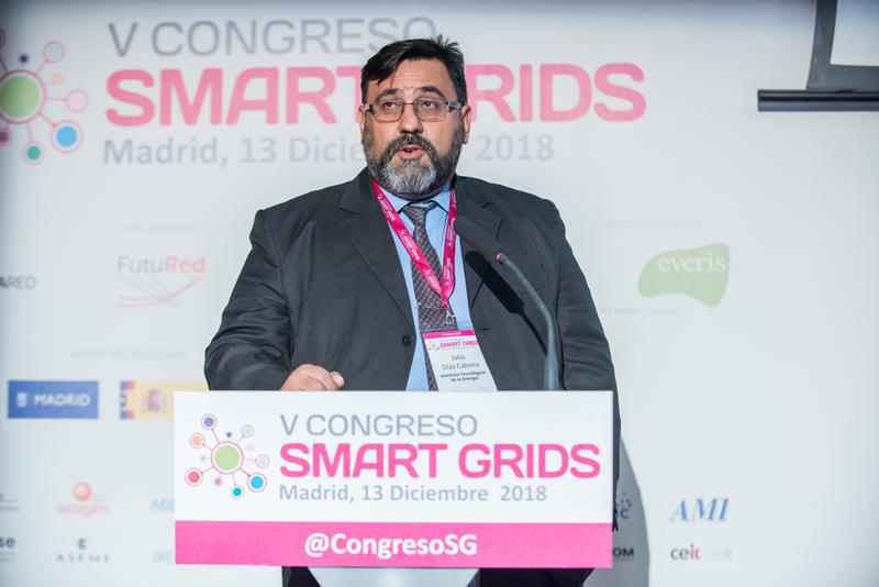 Julio César Díaz en el V Congreso Smart Grids.