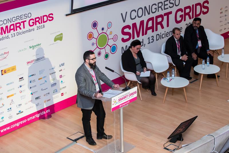 Xavier Benavides en el V Congreso Smart Grids.