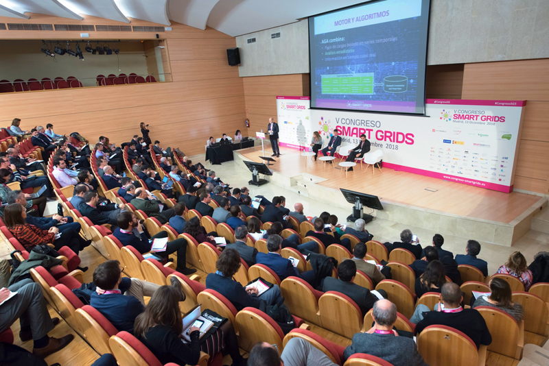 V Congreso Smart Grids. Auditorio.